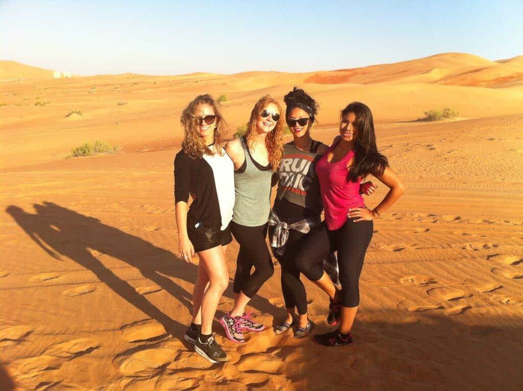 Jess at UAE