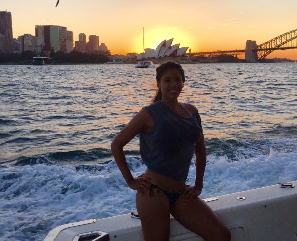 Jess at Australia